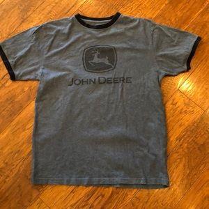 John Deere Blue Men's T-Shirt Size Medium